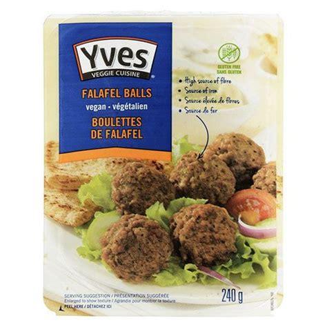 Yves Veggie Cuisine Falafel Balls and Kale & Quinoa Bites ...