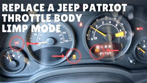 transmission control 2006 jeep liberty electronic throttle control chrysler jeep patriot throttle body install limp mode youtube