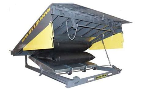 beacon world class air bag dock leveler