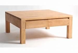 Table Basse Grise Pas Cher : table basse carr e bois pas cher design en image ~ Teatrodelosmanantiales.com Idées de Décoration