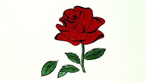 draw red rose ll lb