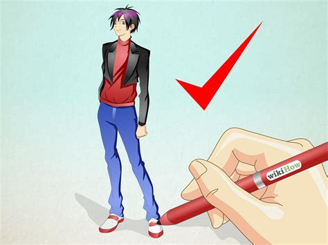 draw  anime boy  steps  pictures wikihow
