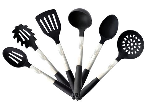 kitchen silicone utensil cooking tools utensils sets stainless nonstick steel giveaway stand gadgets amazon code covers discount includes pieces cookware