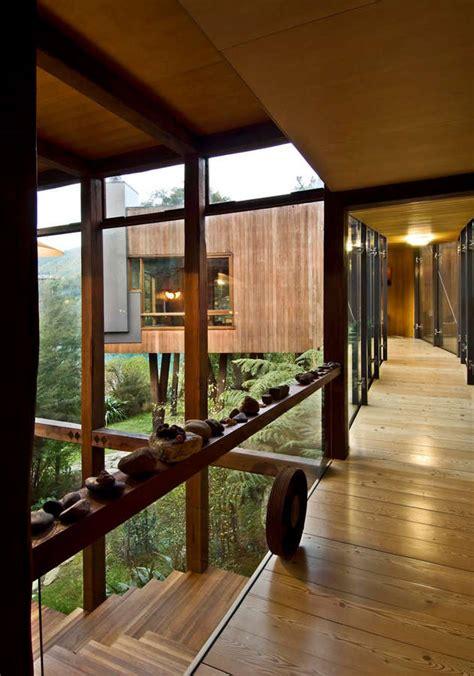 waterfall bay house marlborough sounds  architect