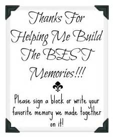guest signing book graduation party guest book idea with free printable