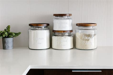 kitchen storage jar pantry organization tips for a creating a healthy pantry 3158