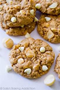 Oatmeal White Chocolate Macadamia Nut Cookies
