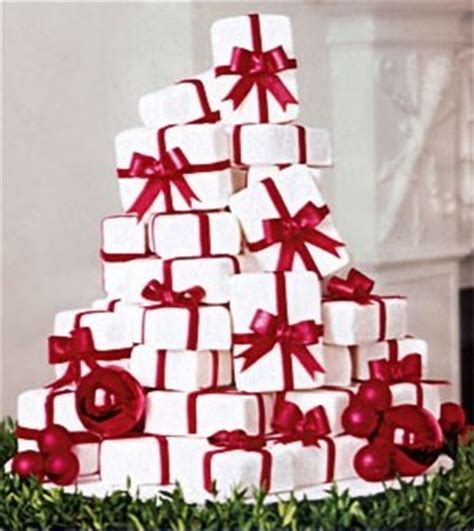 christmas wedding cakes  wedding cake blog