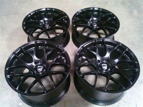 avant garde black  wheels rims  porsche