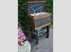 20 Innovative Outdoor Cooler Ideas Keeping Your Beverages