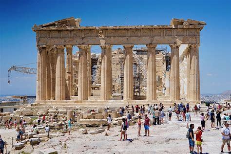 Visiting The Parthenon Athens Greece