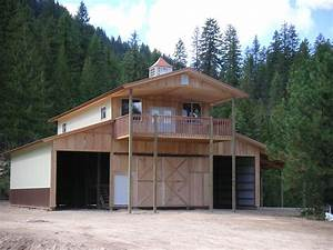 residential home construction post frame bend or With can you live in a pole barn