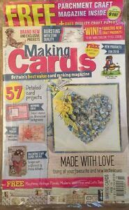 making cards  parchment craft mag inspiring ideas feb