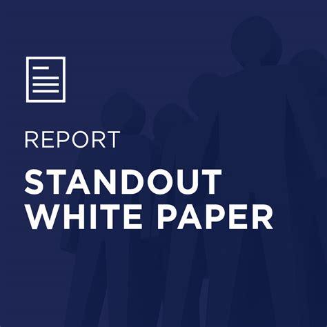 standout assessment technical report tmbc standout