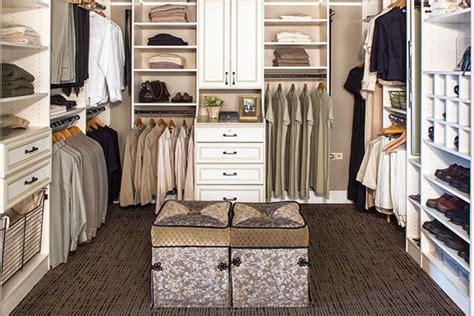 ivory custom walk in closet design