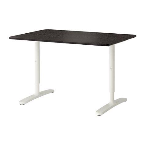 ikea black and white desk bekant desk black brown white ikea