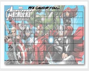 free printable potty chart free printable avengers behavior chart from craft tacular