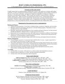 Sle Resume Of A Cpa Candidate by Sle Resume Microsoft Word Work Resume Sle Part Time Professional Resume Template