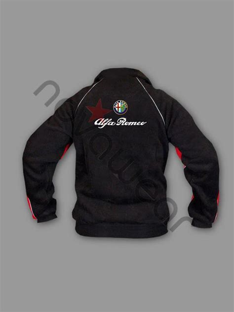 alfa romeo jacke alfa romeo fan fleece jacket