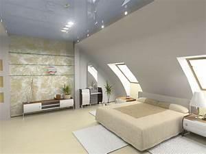 Bett Für Dachschräge : bett platzieren dachschr ge im schlafzimmer ~ Michelbontemps.com Haus und Dekorationen
