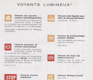 Voyant Tableau De Bord 206 : voyants tableau de bord ~ Medecine-chirurgie-esthetiques.com Avis de Voitures
