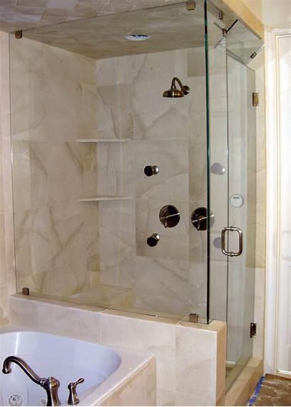 Shower Glass Panel Bathroom Italienne Stall Bath