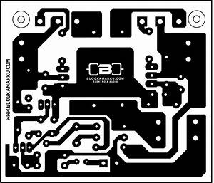 Layout Pcb Driver Micro Bostrap