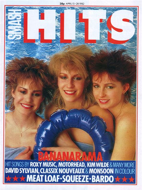 bananarama  smash hits magazine   flashbak