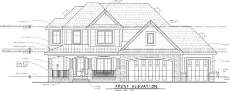 Architectural Elevation Drawings Plain On Architecture
