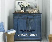 how to distress painted furniture CHALK PAINT: HOW TO DISTRESS FURNITURE - My Sugar Tart
