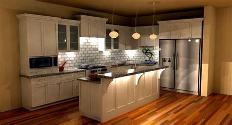 ارضية ملونة للمطبخ 3d حديثة  المرسال