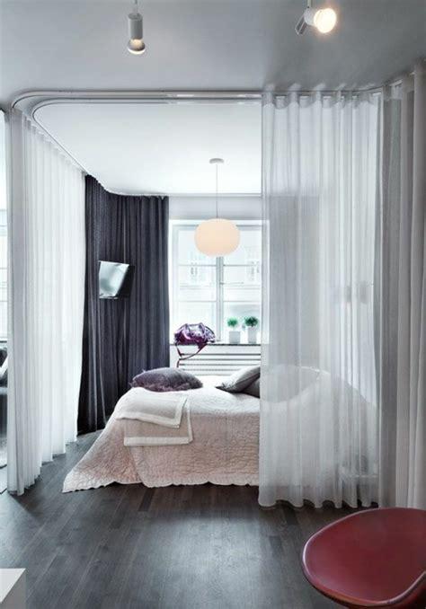 la séparation de pièce amovible optez pour un rideau