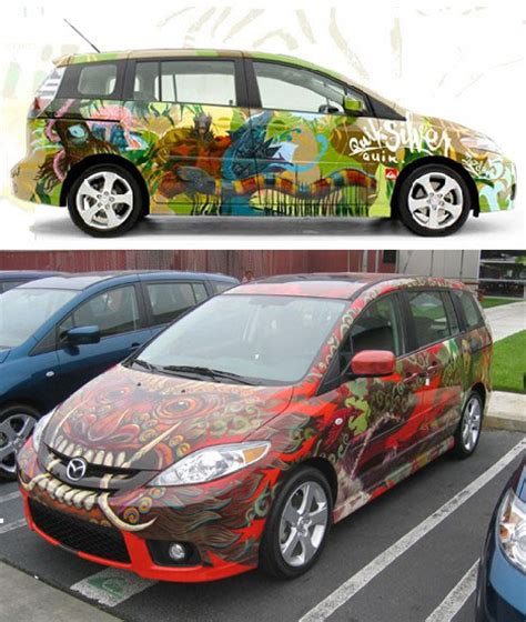 15 Examples Of Awesome Automotive Art
