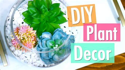 diy trendy plant room decor youtube