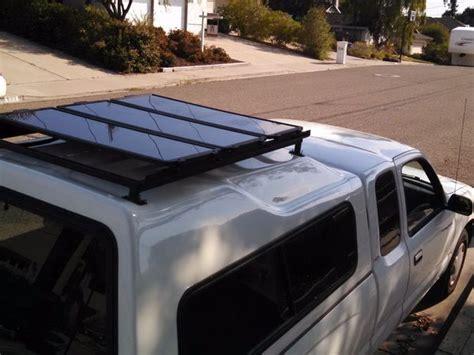 diy roof rack installing a diy roof rack for solar panels