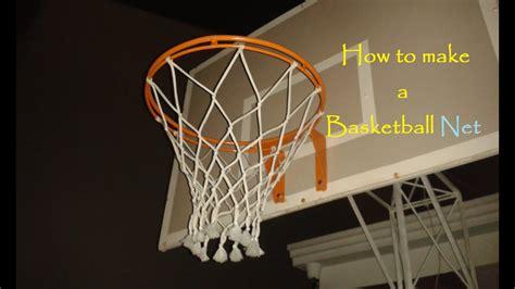basketball net  strings youtube