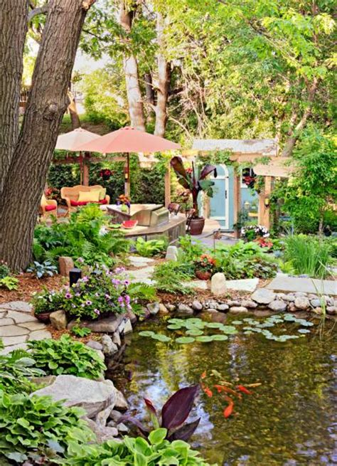 backyard  vacation oasis midwest living