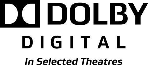 Dolby Digital In Selected Theatres 2007.svg