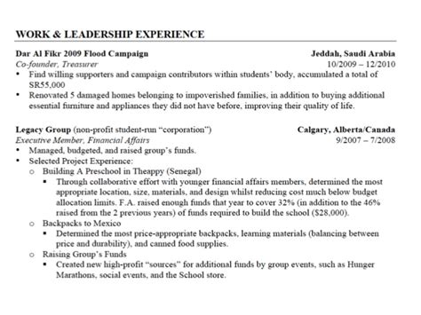 Interests To Put In A Resume by Doc 12751650 Cv Exles Of Hobbies And Interests