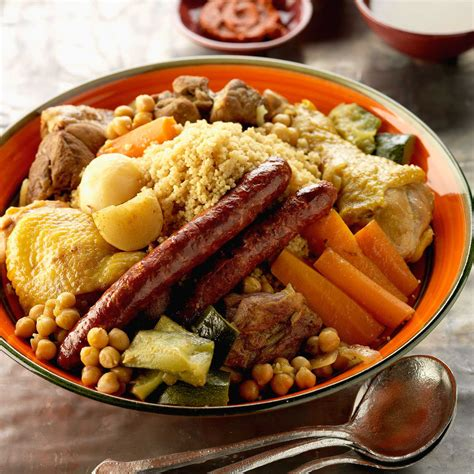cuisiner un couscous couscous tunisien recette sur cuisine actuelle