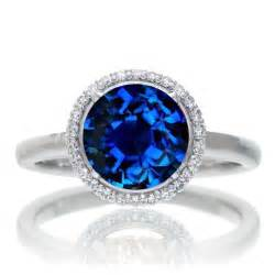 sapphire wedding rings sapphire and halo engagement ring beautiful ring diamantbilds