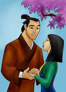 DC - Shang and Mulan (color) by vanillacoke-disney on ...