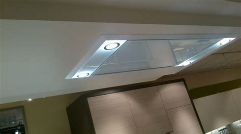 Westin Stratus Vetro Ceiling Mounted Extractor Hood with
