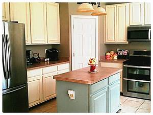 kitchen cabinet makeover with annie sloan paint 1051