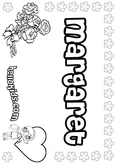 margaret coloring pages hellokidscom