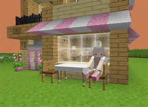 Minecraft House Maid Cafe