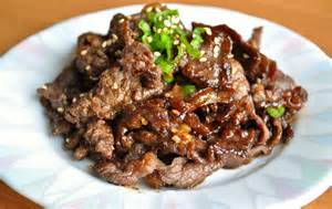 bulgogi recipe korean traditional dish delicious