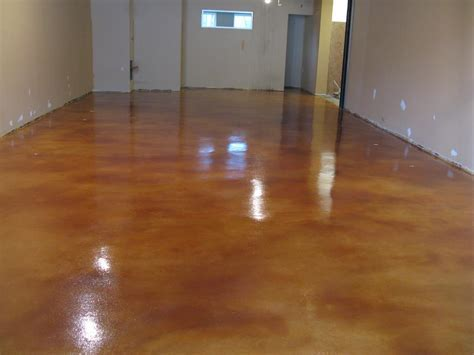 Supermarket Acid Stain After   Diamond Kote Decorative
