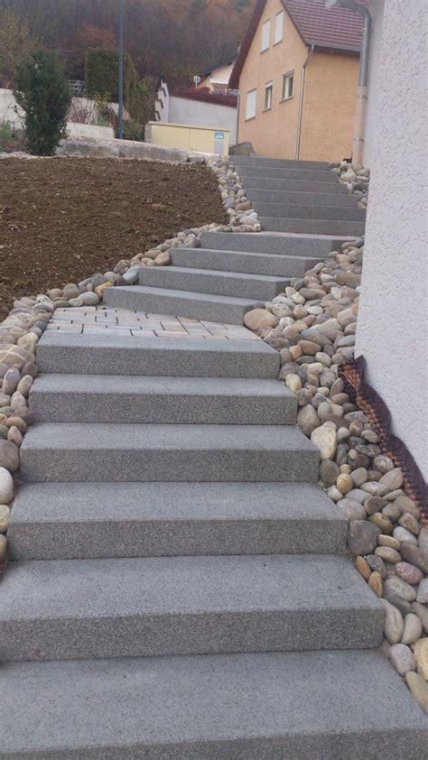 marche d escalier exterieur escalier ext 233 rieur en bloc marche cuinet