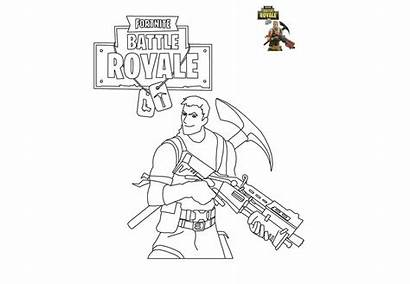 Fortnite Coloring Pages Printable Trooper Assault Highrise